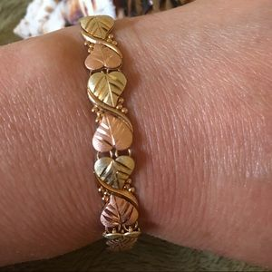 Jewelry - Black Hills Gold Tri - Color Bracelet